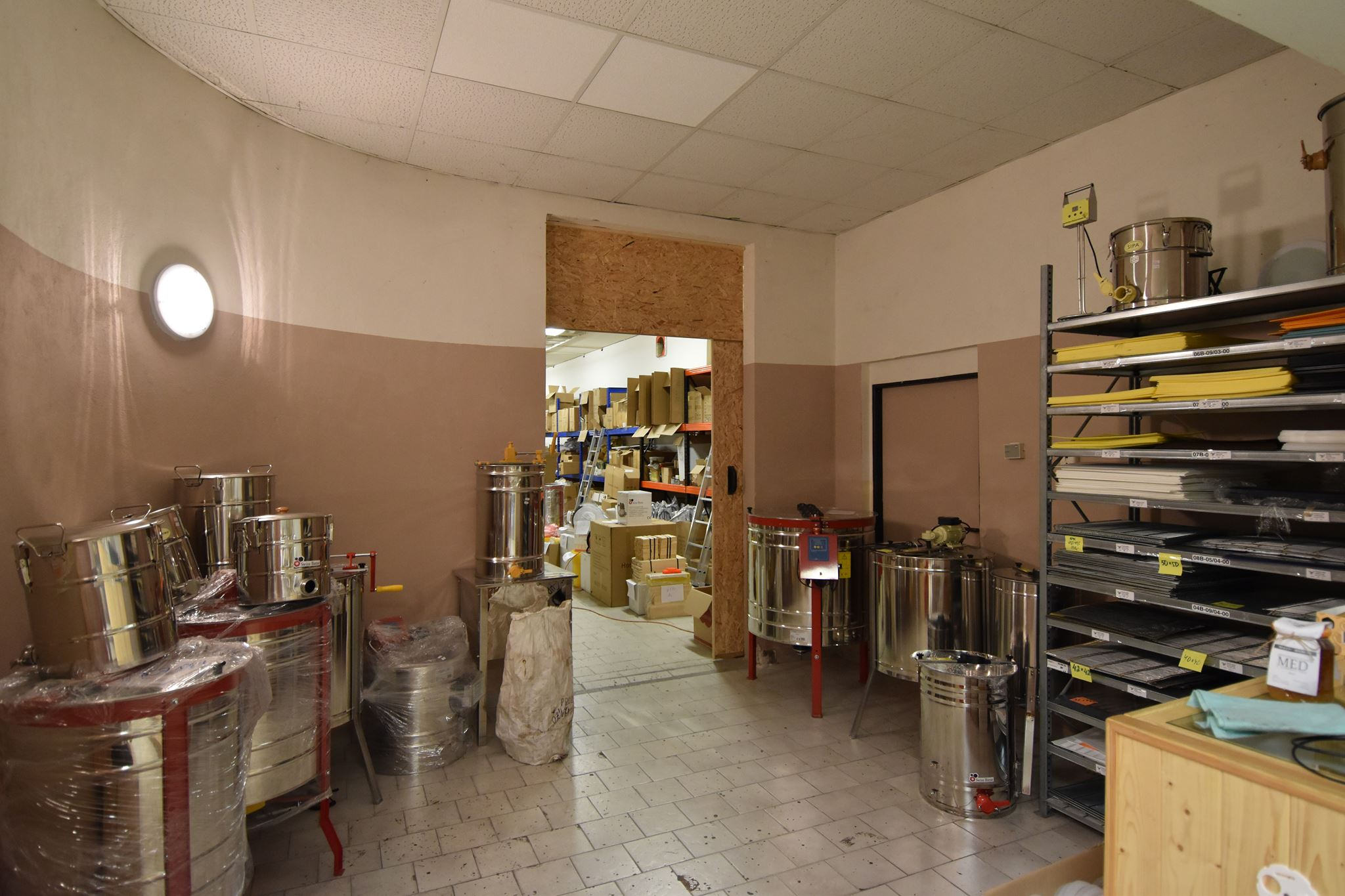 Our beekeeping store on Prague 2