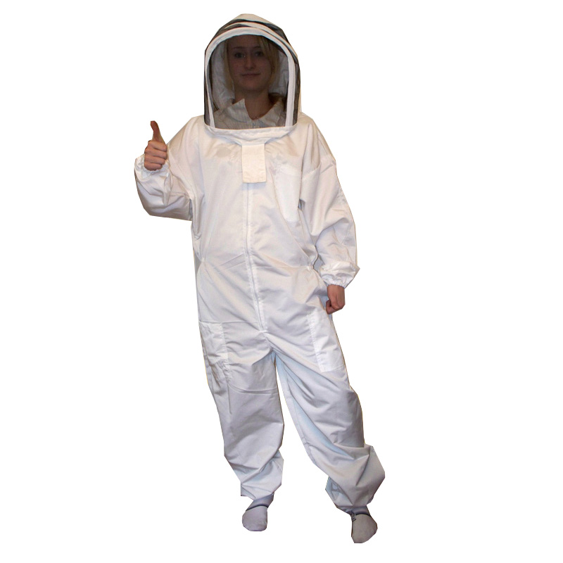 Bee suit with hood sizes.: S - XXL