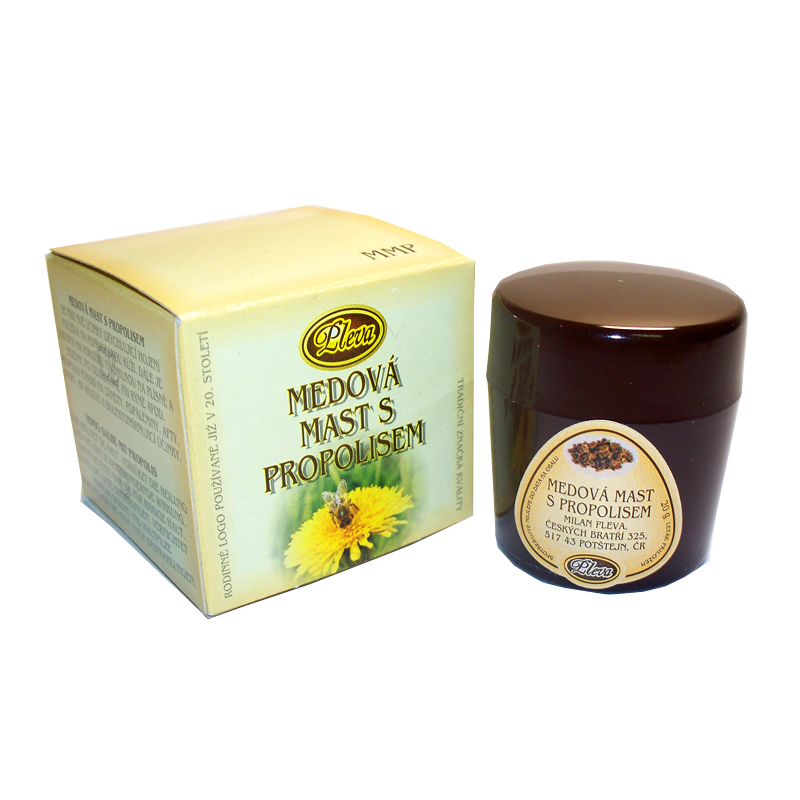 Honey ointment with propolis